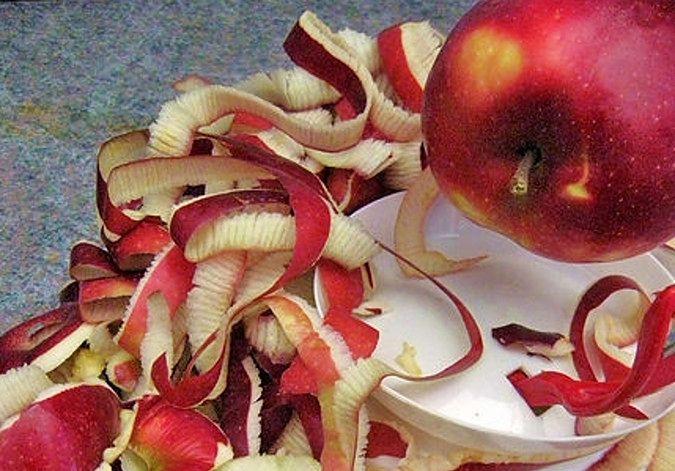 Skórka od jabłka