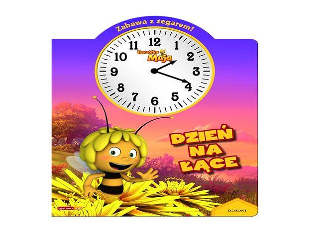 Pszczółka Maja - zabawa z zegarem