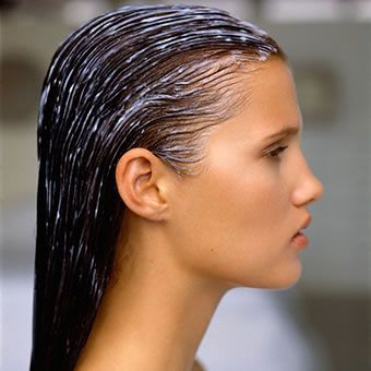 Maseczka na włosach