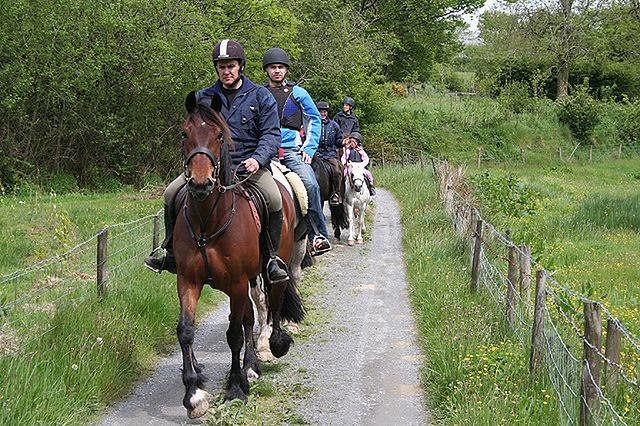 Jeździectwo - przejażdżka konna