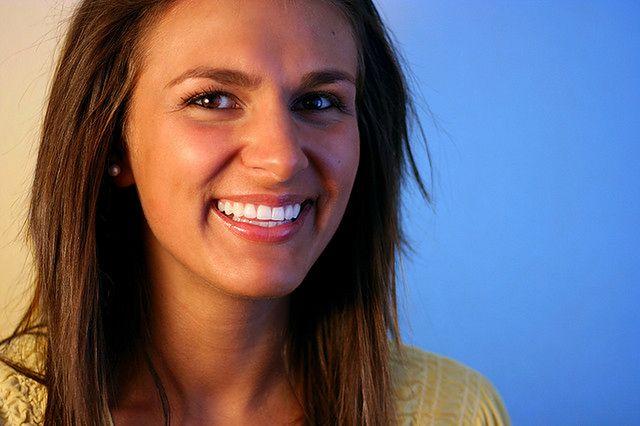 Biały uśmiech