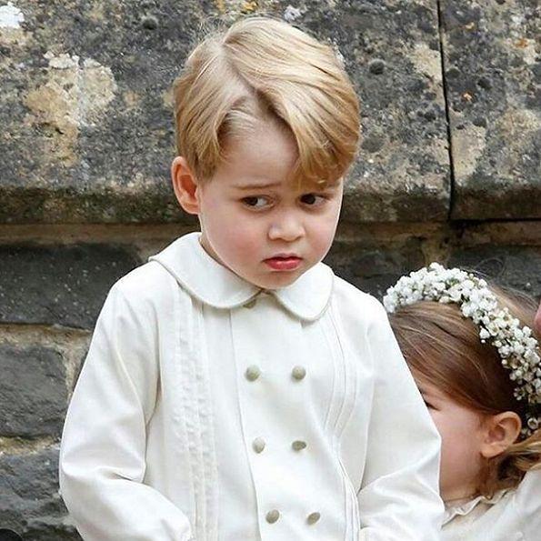 Mały George niedawno skończy 4 lata