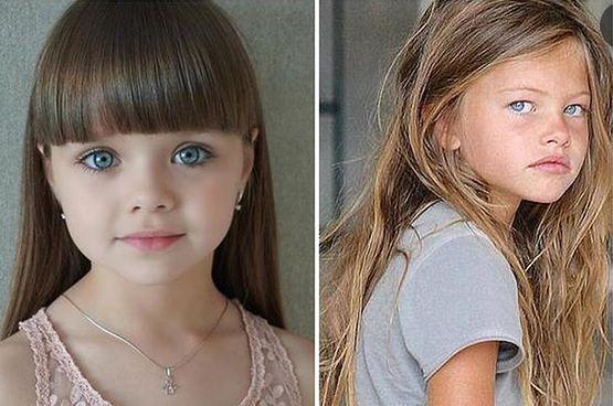 Thylane Blondeau i Anna Knyazeva, najpiękniejsze dzieci świata