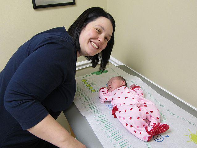 Szczepienie niemowlaków
