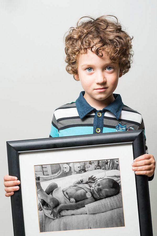 Thomas, urodzony w 29. tygodniu ciąży