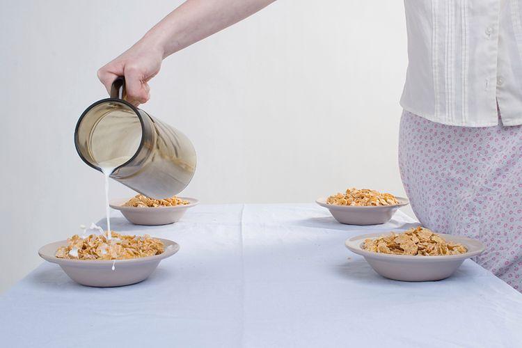 Mleko na śniadanie