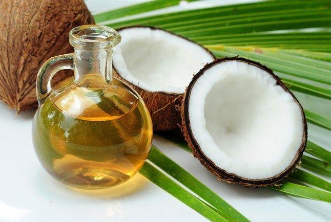 Olej kokosowy i olej z konopii