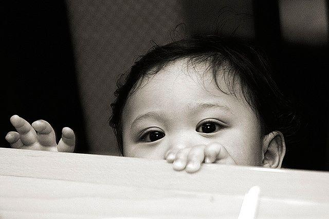 Ośmiomiesięczne niemowlę