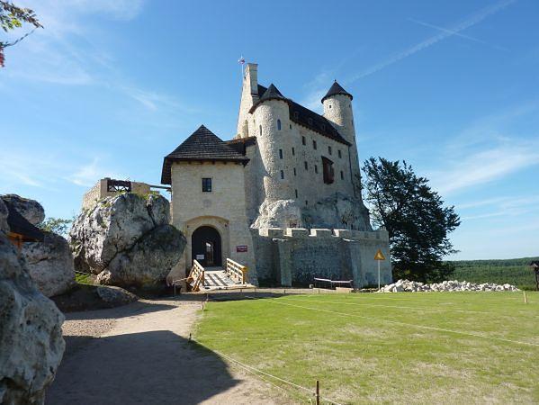 Zdjęcie zamku w Bobolicach