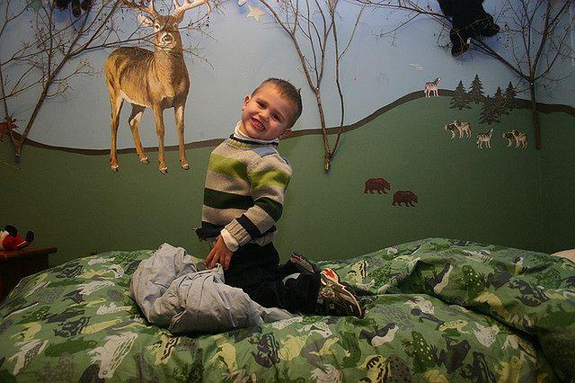 Malowanie ścian w pokoju dziecka