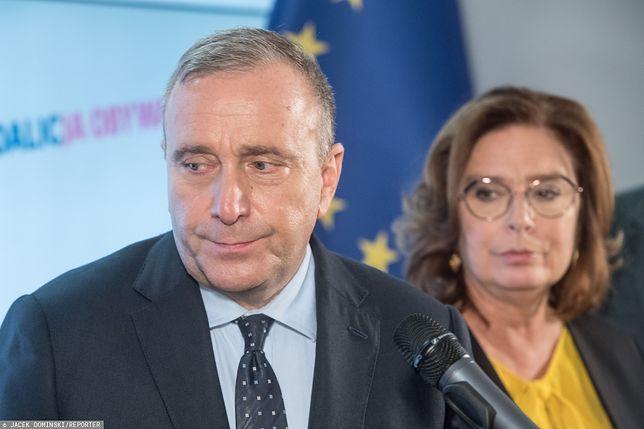 Grzegorz Schetyna powiedział, że jest drugi kandydat w prawyborach prezydenckich KO