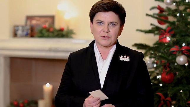 Beata Szydło składa Polakom życzenia