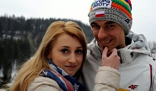 Piotr Żyła z żoną Justyną Żyłą - o ich rozstaniu głośno jest od miesięcy