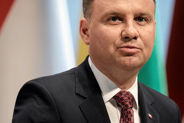 """""""Ogromny żal i wielka strata"""". Andrzej Duda o katastrofie ..."""