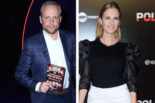 """Piotr Adamczyk i Karolina Szymczak na premierze """"Polityki"""""""