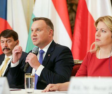 Grupa Wyszehradzka. Szczyt w Czechach ze Słowenią i Serbią