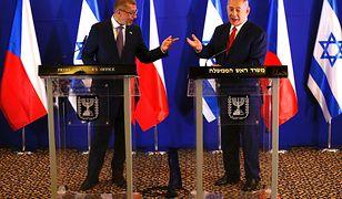 Czeski premier zdradza: Netanjahu uznał wypowiedź Katza za niefortunną