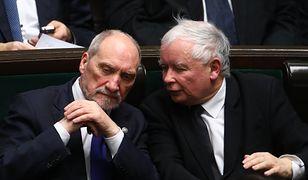 Antoni Macierewicz zaczął odwiedzać prezesa Kaczyńskiego. Ocieplenie relacji czy partyjna gra