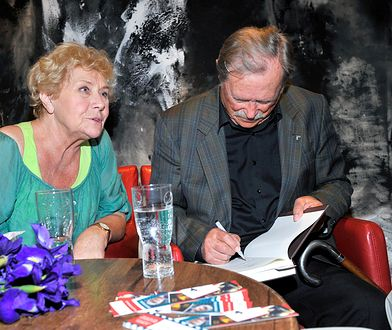 Emil Karewicz grał z Teresą Lipowską w serialu