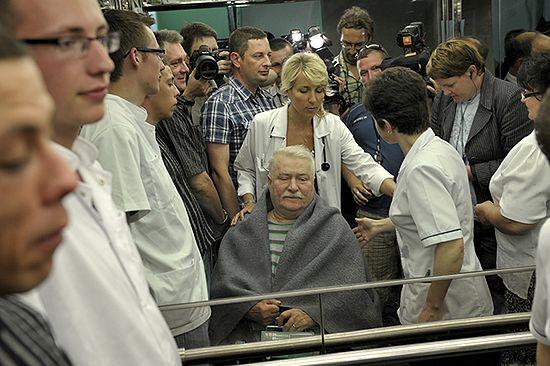 Wiadomo, z jaką chorobą zmaga się Lech Wałęsa