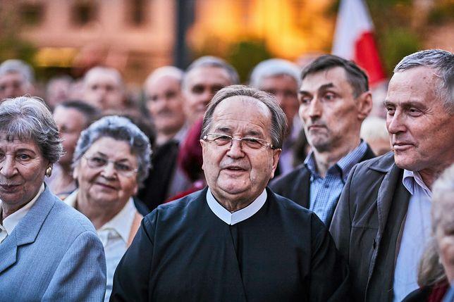 Ojciec Tadeusz Rydzyk w Łodzi.