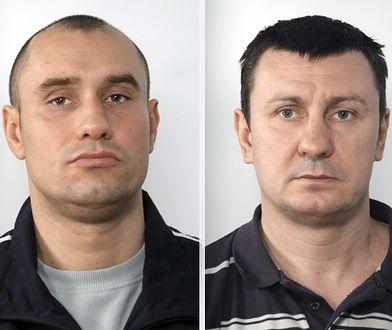 """Poszukiwani gangsterzy z grupy """"Kadafiego"""" (po prawej)"""
