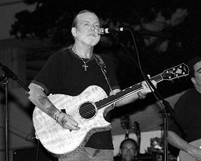Gregg Allman w 20016 roku