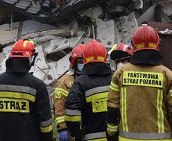 Zawalenie domu na Podlasiu. W środku były trzy osoby, w tym dziecko