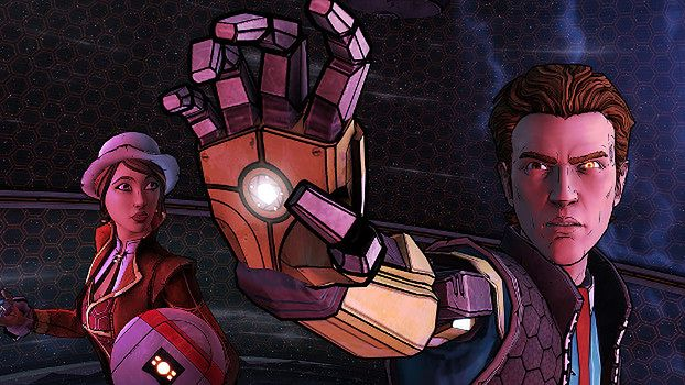 Tales from the Borderlands - kadr z gry