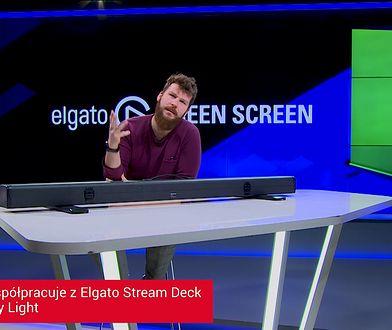 Elgato Green Screen - test sprzętu dla streamerów w studiu WP.tv