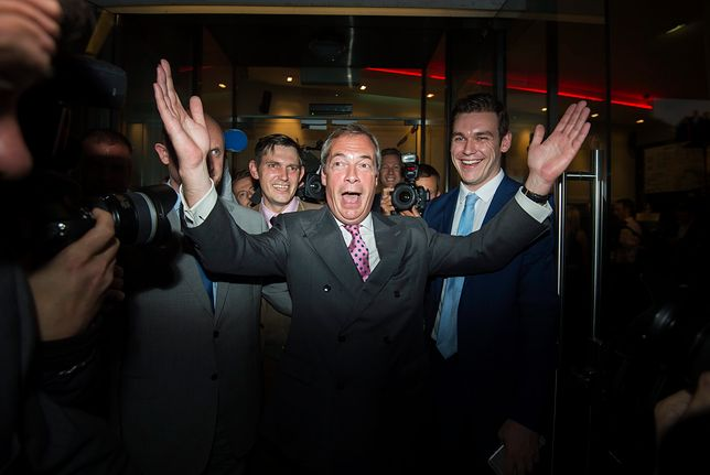 Brexit był dla Nigela Farage'a spełnieniem politycznej kariery