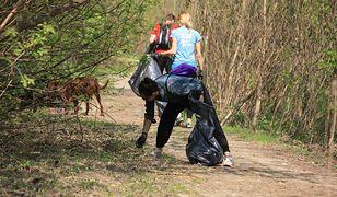 (Za)biegają o czysty Żoliborz nad Wisłą. Wielka akcja sprzątania