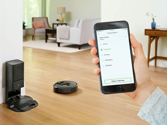 iRobot Roomba i7+ sterowana jest z dedykowanej aplikacji