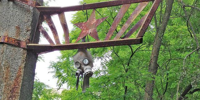 Ustawiony czy nie, taki detal buduje klimat Czarnobyla.