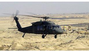 Polskie śmigłowce Black Hawk krążą nad Meksykiem