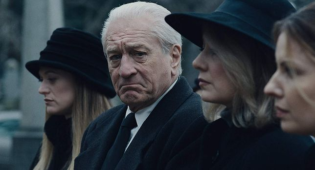 """Robert De Niro zagrał tytułowego """"Irlandczyka"""" w filmie Martina Scorsese"""