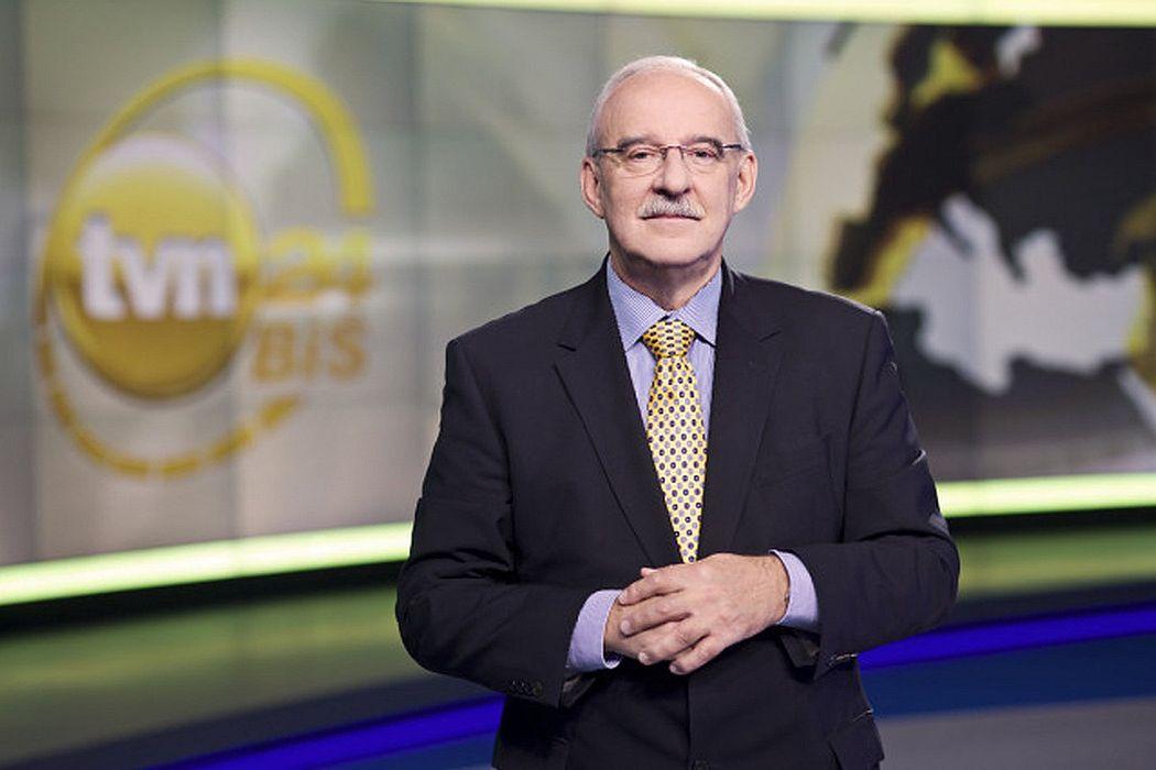 Jacek Pałasiński był związany z TVN24 od 20 lat