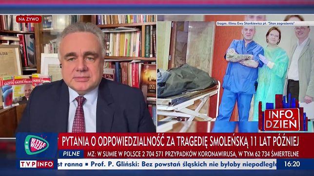 """Redaktor naczelny """"Gazety Polskiej"""" mógł w TVP bez przeszkód opowiadać o """"zabiciu prezydenta"""""""
