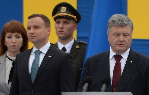 Duda sam na święcie niepodległości Ukrainy. Wyróżnienie czy osamotnienie?