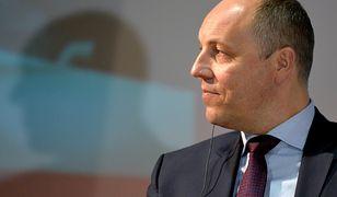 O decyzji Parubij poinformował podczas konferencji prasowej w Kijowie