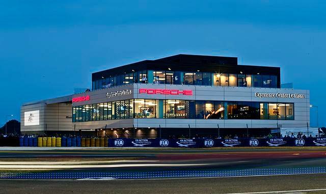 Nowe centrum Porsche w Le Mans
