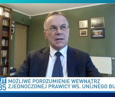 Jarosław Sellin odpowiada prof. Ewie Łętowskiej. Wytknął jej fakt z przeszłości
