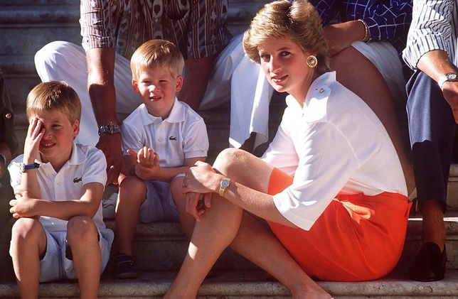Księżna Diana chciała być jak najlepszą mamą dla Williama i Harry'ego
