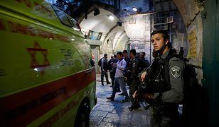 Interweniowała izraelska policja