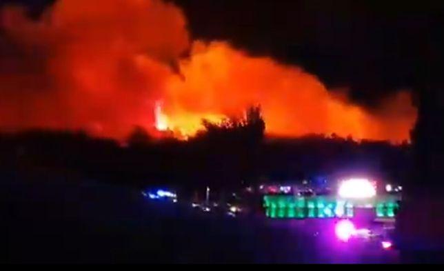 Pożar na wyspie Pag