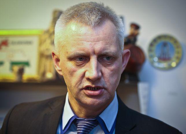 """Marek Lisiński, były prezes fundacji """"Nie lękajcie się""""."""