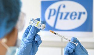 Wniosek Pfizer ws. szczepionki na COVID