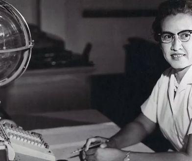 Katherine Johnson podczas pracy w NASA