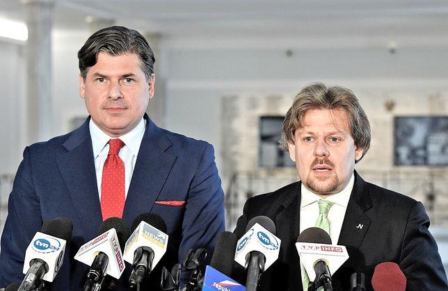 Piotr Misiło (z prawej)
