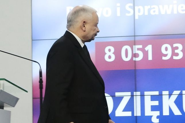 Wyniki wyborów 2019. PiS stracił Senat. To musiało zaboleć Jarosława Kaczyńskiego